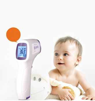 Temperature Measurement Standing Thermometer Home Contact Type Temperature Tool for Adult Kids Infrared Thermometer