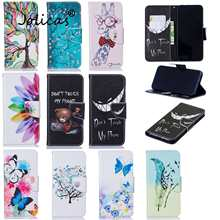 Papillons Smartphone Couvre Pour funda Redmi Note 7 Etui sFor Redmi armure Note 7S 8 6 Pro 7A 8T K20 8A 7 Etui portefeuille(China)