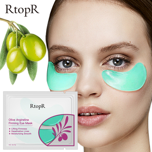 RtopR Collagen Anti-Wrinkle Eye patches Oliver Firming Moisturizing Eye Mask Remove Dark Circles Anti Age Bag Anti-Puffiness Gel