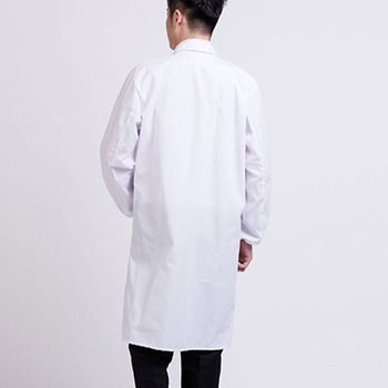 White Lab Coat Doctor Hospital Scientist School Fancy Dress Costume for Students Adults SEC88