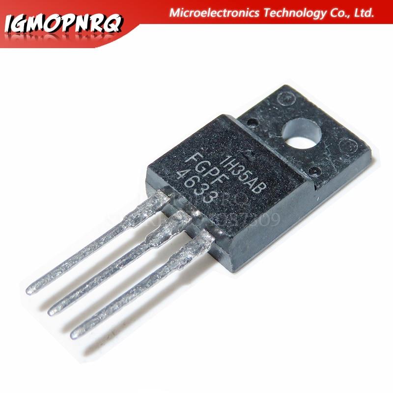 10PCS FGPF4633RDTU Encapsulation:TO-220F,