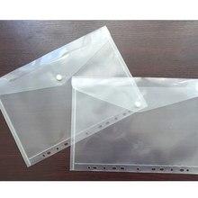 10 шт., 11 отверстий, прозрачный А4, Сумка для документов, пластиковая папка, файл, счет, конверт, сумка для хранения данных, школьная, Студенческая, тестовая, бумажная сумка