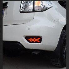 2pcs LED Posteriore Nebbia Della Lampada Della luce Freno Trun luce Per Nissan Patrol Y62 2013 2014 2015 2016 2017 2018 2019 accessori
