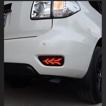 2pcs LED Rear Fog Lamp Brake light Trun light For Nissan Patrol Y62 2013 2014 2015 2016 2017 2018 2019 Accessories