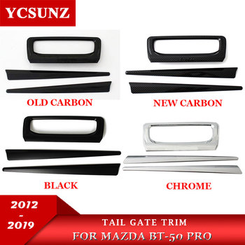 Tailgate Trim car accessories ABS Rear Door Handle Inner For mazda bt50 bt-50 pro 2012-2019 2014 2018 2020 YCSUNZ image