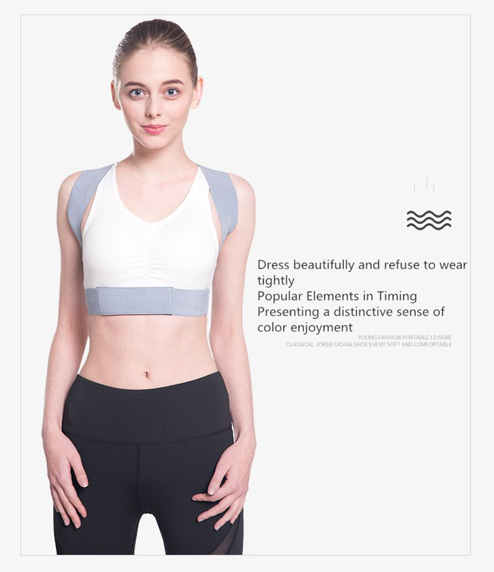 Adjustable Posture Corrector Belt for Clavicle and Spine Support Helps to Relief Back Pain Suitable for Unisex 8