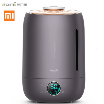 Xiaomi Deerma DEM-F630 Ultrasonic Humidifier 5L Touch Temperature Intelligent Constant Humidity Humidifier LED Digital Display
