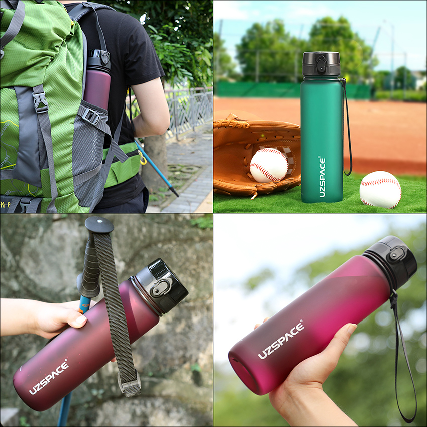 1000ml BPA Free Water Bottle Womens Accessories Mens Accessories