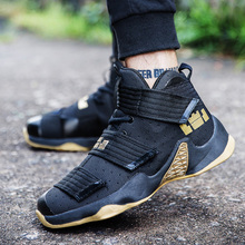 2019 New Men's Basketball Shoes Zapatillas Hombre Deportiva Soft Breathable Men Ankle Boots Basketball Sneakers Athletic Shoes