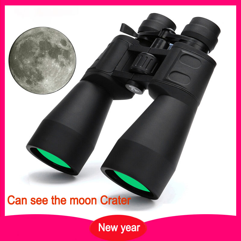 Binoculars 10-380X100 High Magnification IPX6 Telescope with Broadband Green Film HD Professional Zoom 10-60 Times for Hunting