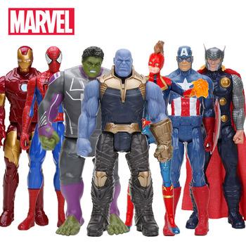 Hasbro Marvel zabawki Avenger Endgame 30CM superbohater Thor Hulk Thanos Wolverine Spider-Man Iron Man figurka zabawka lalki tanie i dobre opinie Model Unisex not suit for under 3 years 3 lat Wyroby gotowe A66999510 Zachodnia animiation Zapas rzeczy Film i telewizja