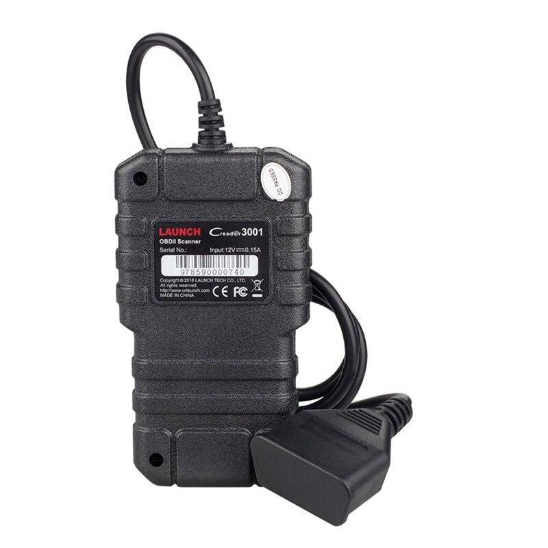 Uruchomienie X431 CR3001 pełna OBD2 skaner startowy creader 3001 OBD II/EOBD czytnik kodów silnika narzędzie diagnostyczne do samochodów PK ELM327 skaner