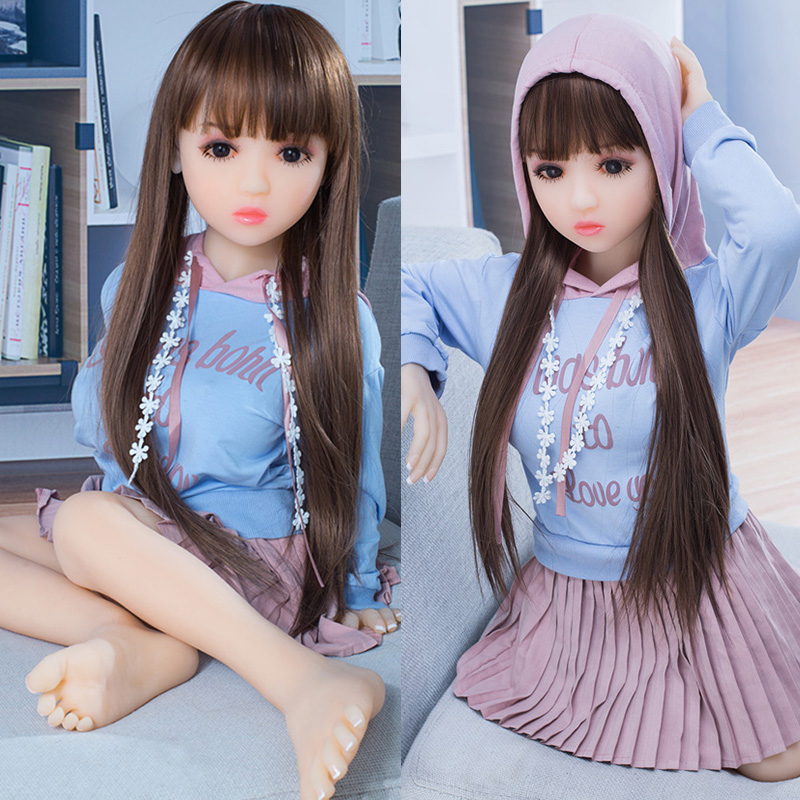 Realistic Love Doll 100 Cm Flat Chest Sex Dolls Mini Vagina Real Pussy Girl Doll Silicone Full Body Sex For Men Making Love