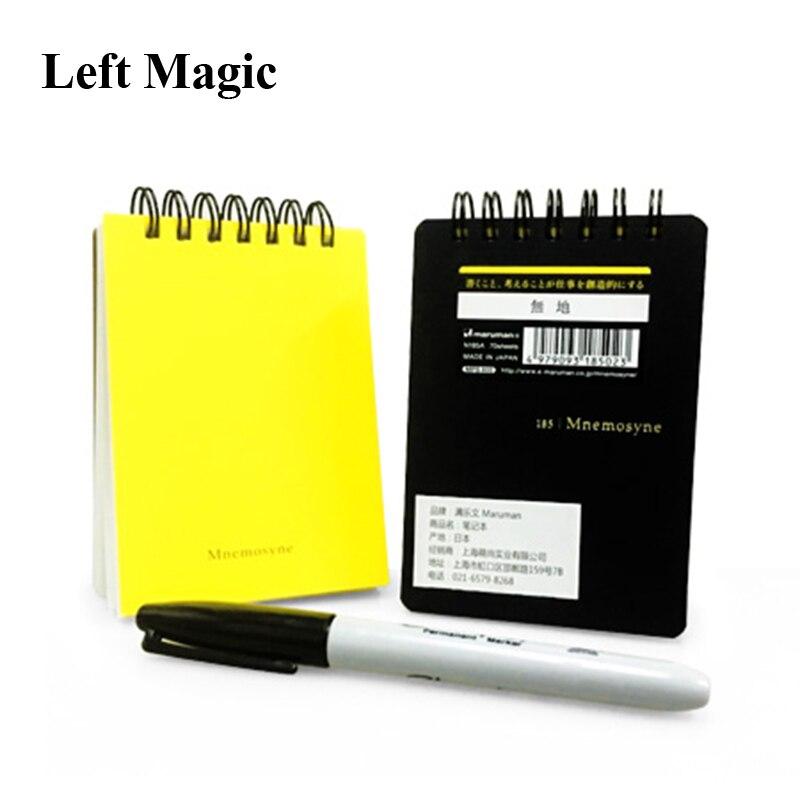 ParaPad (the ORIGINAL) Magic Tricks Magician Secret Mind Notebook Close Up Illusions Gimmick Prop Fun Mentalism Prediction Magia