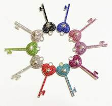 10pcs Key charms for women DIY jewelry accessories K005