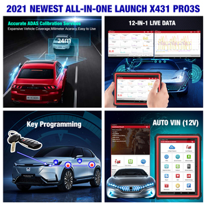 Image 5 - 2021 New LAUNCH X431 PRO3S+ 10.1 Automotive diagnostic tools Car Full System Scan tool OBDII OBD2 Code Reader Scanner Pk X431 V