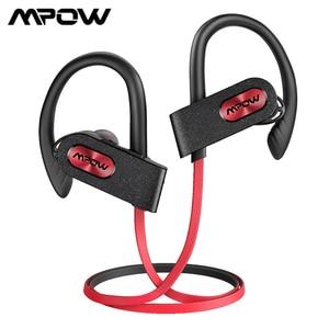Image 1 - Mpow Flame 2 Auriculares deportivos con Bluetooth 5,0, dispositivo resistente al agua IPX7, con cancelación de ruido y micrófono, Larga 13 horas de modo de reposo, CVC 6,0