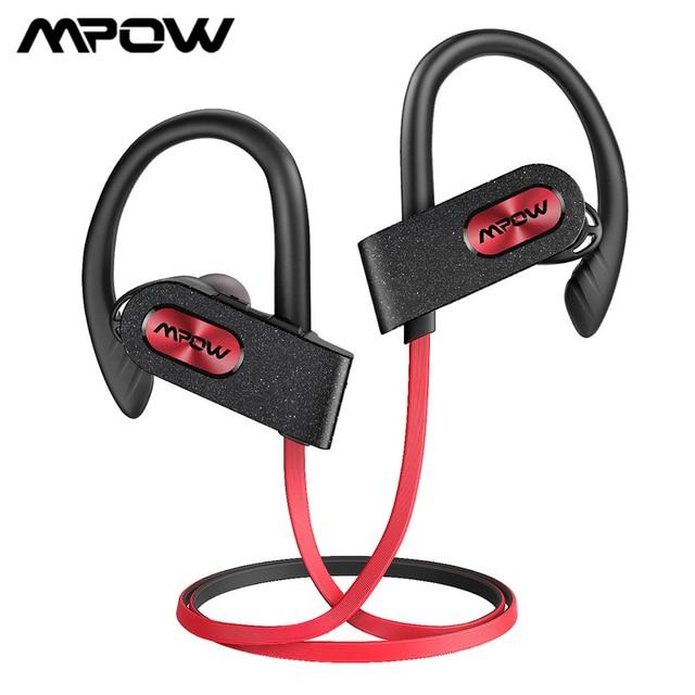 Спортивные наушники Mpow Flame 2, Bluetooth 5,0, IPX7, водонепроницаемые наушники, 13 часов, долгое время работы в режиме ожидания, CVC6.0, шумоподавляющие наушники с микрофоном