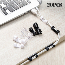 Holder Wire-Organizer Cable-Clip Fixer Fastener Finisher-Wire-Clamp Telephone-Line Usb-Winder