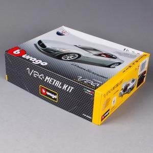 Image 4 - Maisto Bburago 1:24 GT Gran Turismo Assembly DIY Racing Diecast Model Kit Car Toy Kids Toys Original Box Free Shipping
