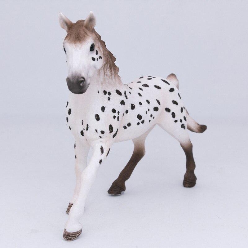 Schleich лошадь клуб Knapstrupper жеребец ферма животное пластиковая фигурка имитация Игрушки для девочек #13889