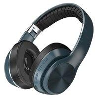 Tourya-auriculares inalámbricos por Bluetooth 5,0, plegables, estéreo, con micrófono, para teléfono, xiaomi y pc