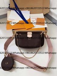 Black Shoulder bag 2020 women fashion designer handbags Top quality crossbody bags Chains Nylon Bag Black