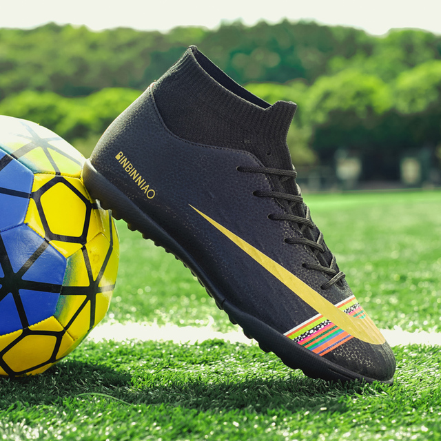 Lion Scream Football Shoes for Men Soccer Kids Indoor Sneakers Turf Spike Superfly Futsal Original Comfortable Waterproof Boots
