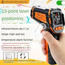 Infrared thermometer industrial temperature gun water temperature oil temperature thermometer kitchen baking beewi temperature