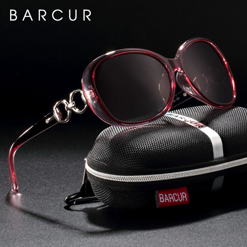 BARCUR New Polarized Sunglasses Women Brand Designer Female Sunglass Vintage Sun Glasses Gafas Oculos De Sol Masculino