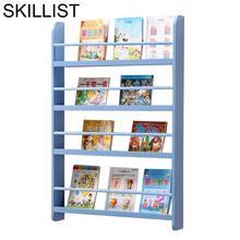Mobilya Estante Para Livro Decor Librero Meuble Rangement Oficina wooden Furniture Retro Decoration Bookcase Book Case Rack