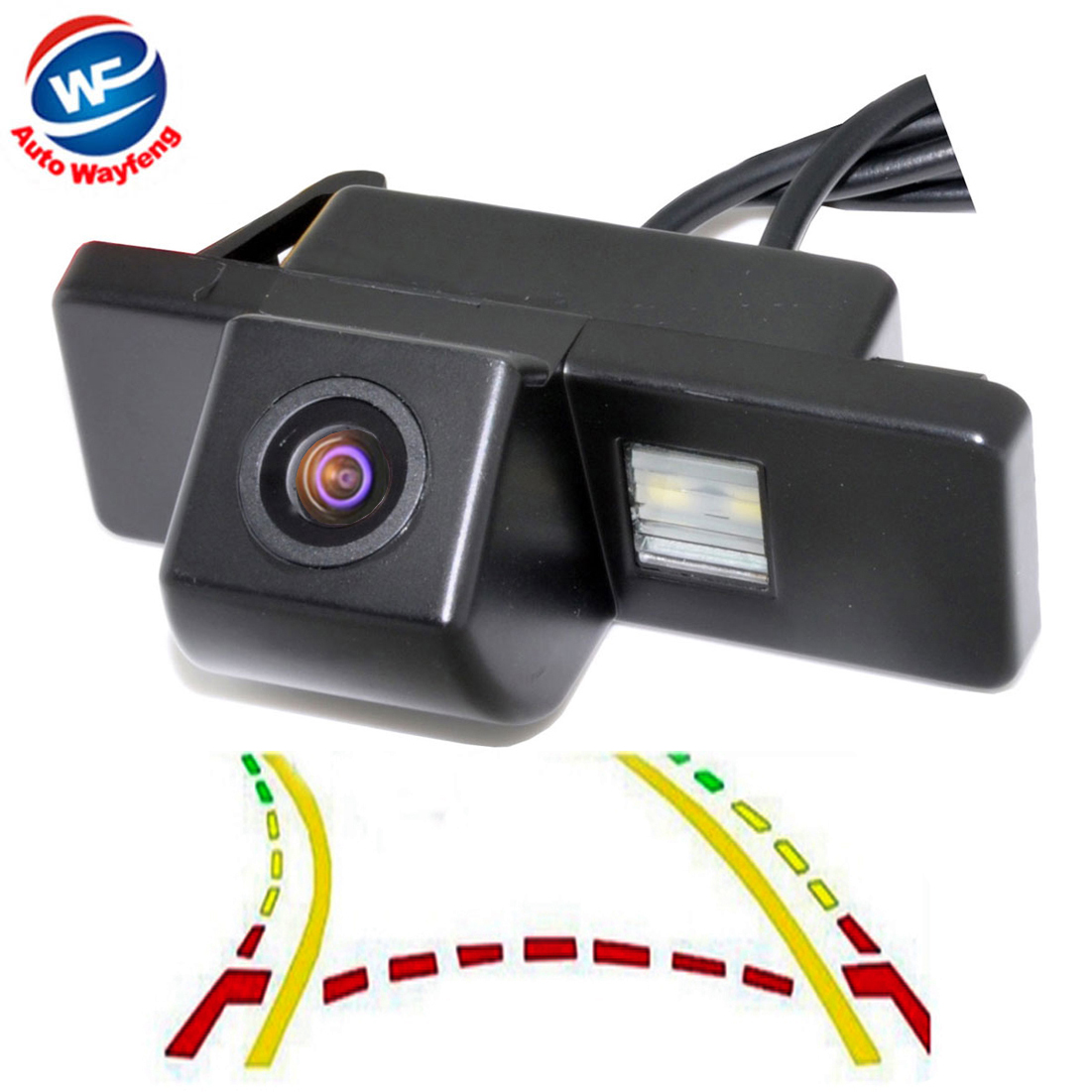 CCD Intelligent Dynamic Trajectory Tracks Rear View Camera for NISSAN Juke QASHQAI/Geniss/Pathfinder/X TRAIL Sunny|Vehicle Camera| - AliExpress