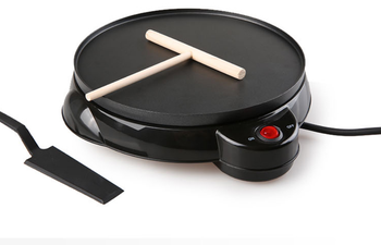 220V Non-stick Electric Crepe Maker Pizza Maker Pancake Maker Crepe Making Pan For Household Kitchen Tool Cooking Pan цена 2017