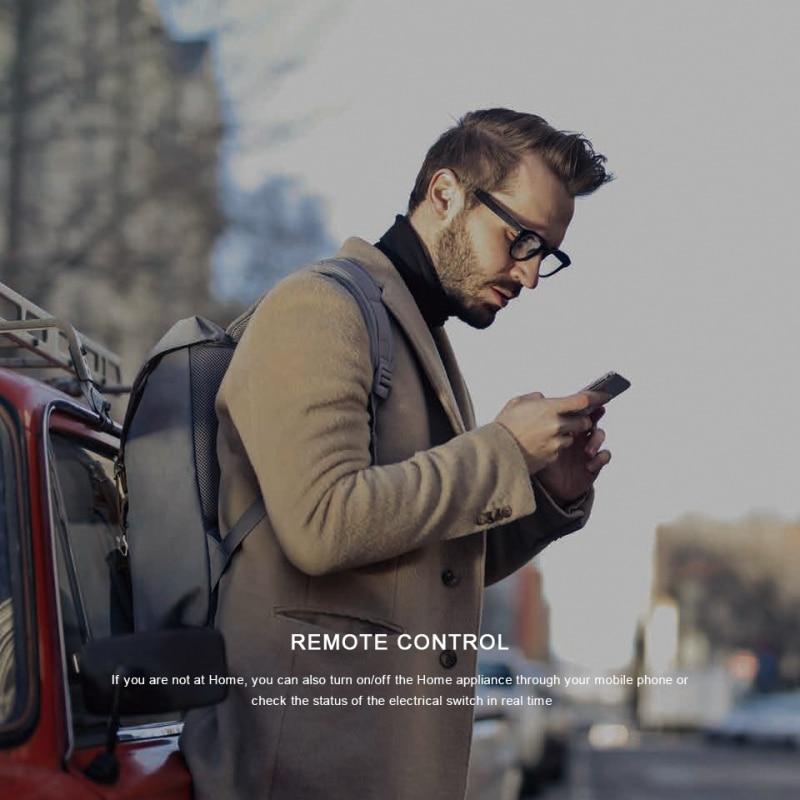 שלט רחוק Wifi IR תומך אלכסה Broadlink RM4C Mini 3
