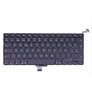 """Image 1 - New Spanish Keyboard For MacBook Pro 13"""" A1278 SP keyboards 2008 2009 2010 2011 2012"""