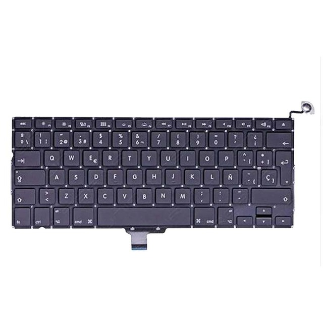 """New Spanish Keyboard For MacBook Pro 13"""" A1278 SP keyboards 2008 2009 2010 2011 2012"""
