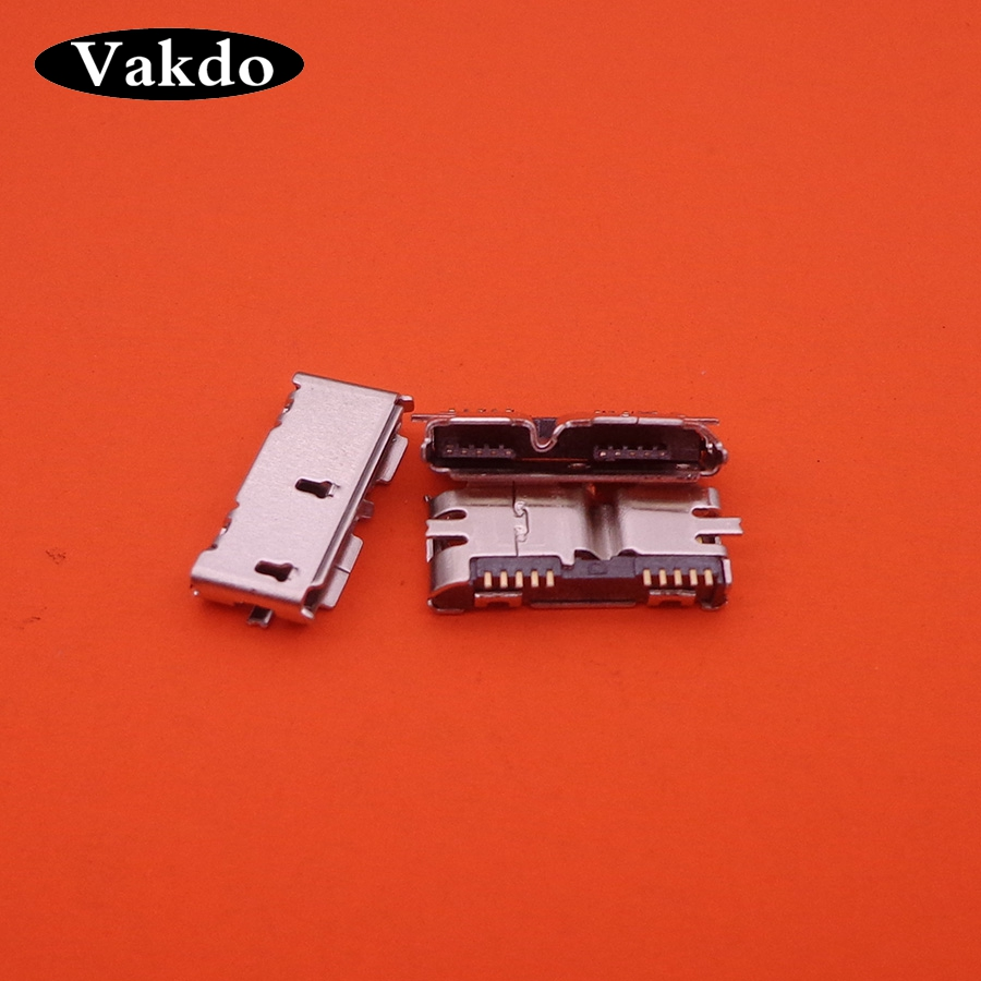 MP3 4 MP5,SMT,Sink in The Board Computer Cables 10 pcs Micro 10pin Micro USB 3.0 Connector Type B Connector for Repair Mobile//Tablet PC Cable Length: Other