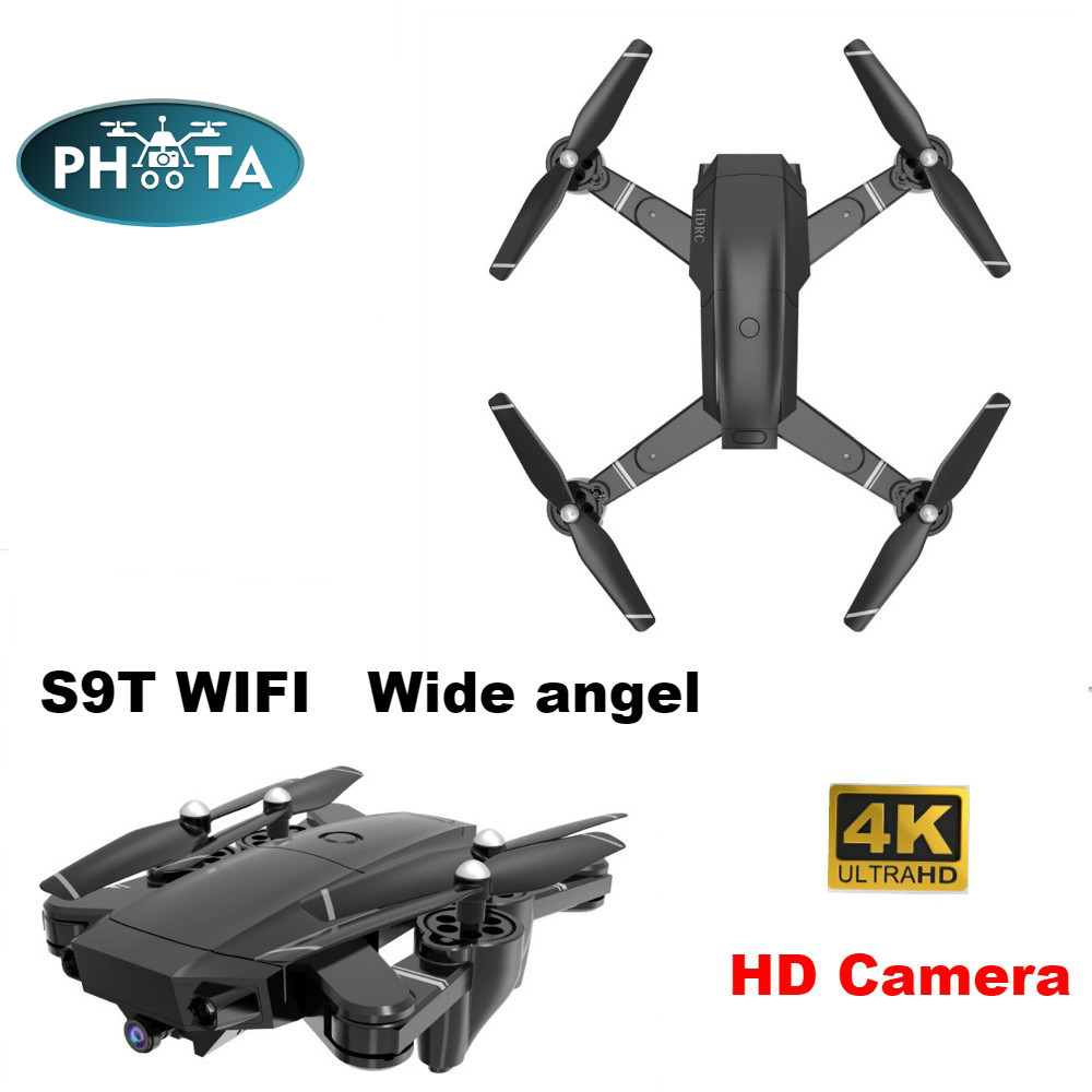 2019 FPV RC Drone 4K Camera Wide angel Selfie Dron Foldable Wifi Quadcopter Helicopter 15 mins long distance drones Dron Toys