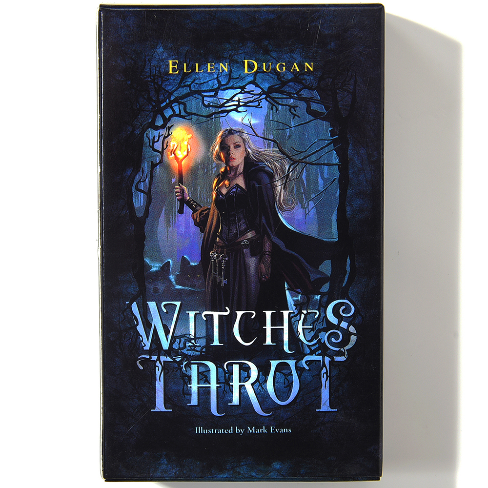 Witch Tarot Deck 78 Cards Future Fate Indicator Forecasting Cards Gift Table Game Board Game