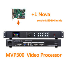 Absen led screen video processor MVP300 with nova msd300 sending card for rental led cabinet outdoor