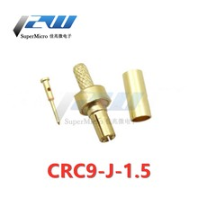 5pcs CRC9 male /CRC9 male connector right angle crimped RG174 RG316 for Huawei E160 E156 / 176 modem
