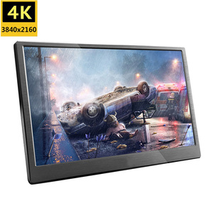 18.4 inch Full HD 3840X2160 4K IPS portable gaming LCD screen monitor PC for PS3 PS4 13.3 15.6 inch USB C mini