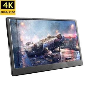 18.4 polegada completa hd 3840x2160 4 k ips portátil gaming monitor de tela lcd pc para ps3 ps4 13.3 15.6 polegada usb c mini monitor de computador
