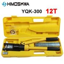 YQK 300 Bereich 4 70mm2 10 300mm crimpen palette Hydraulische crimpen werkzeug 12T druck Kabel Lug Presse Kabel Terminal