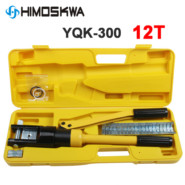 YQK 300 Range 4 70mm2 10 300mm crimping range Hydraulic crimping tool 12T pressure Cable Lug Press Cable Terminal