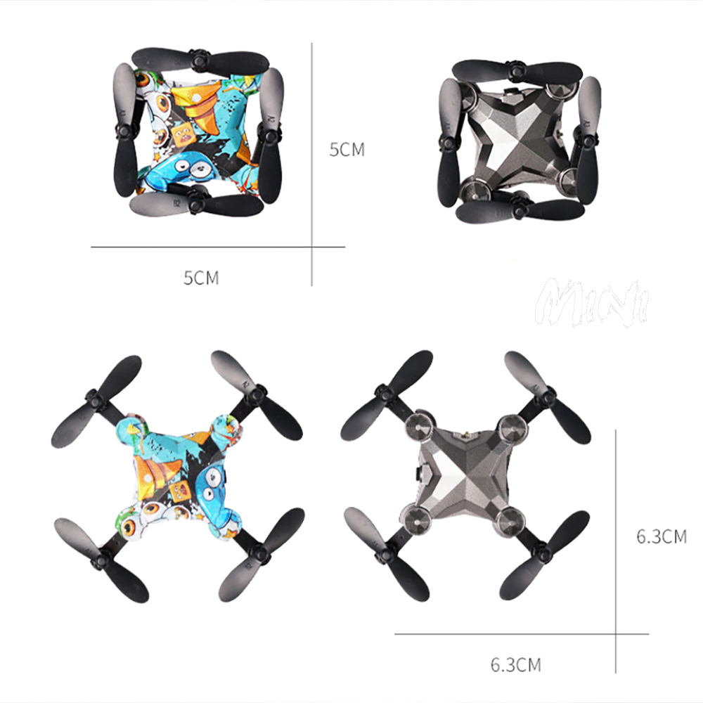 2020 Drone Kit In Mini Suitcase With Camera Suitable For Beginners Hight Hold Mode RC Foldable Quadcopter Dron Gift Cool Toys