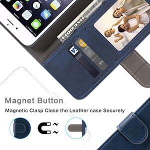 Image 3 - Sprawa dla Huawei Honor 6X przypadku magnetyczny portfel skórzany pokrowiec dla Huawei Honor GR5 2017 stojak Coque przypadki telefonów