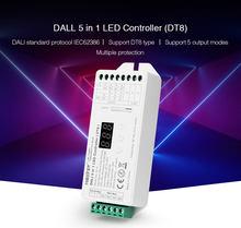 Miboxer новинка dali 5 в 1 светодиодный контроллер dt8 dl x