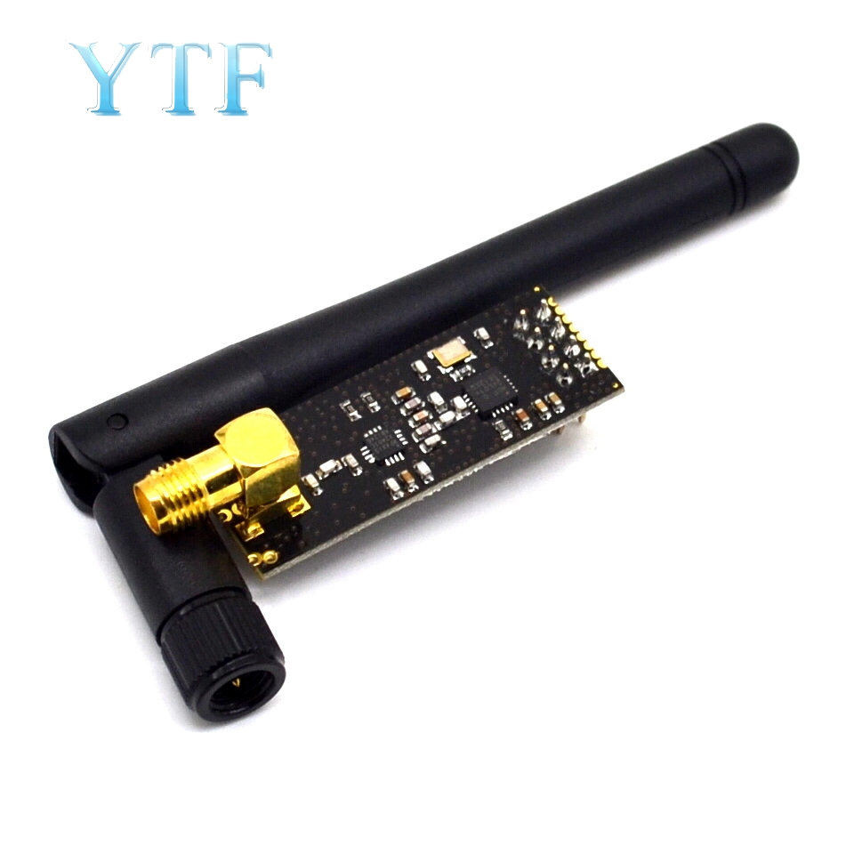 2.4G Wireless Modules 1100-Meters Long-Distance NRF24L01+PA+LNA Wireless Modules (with Antenna)