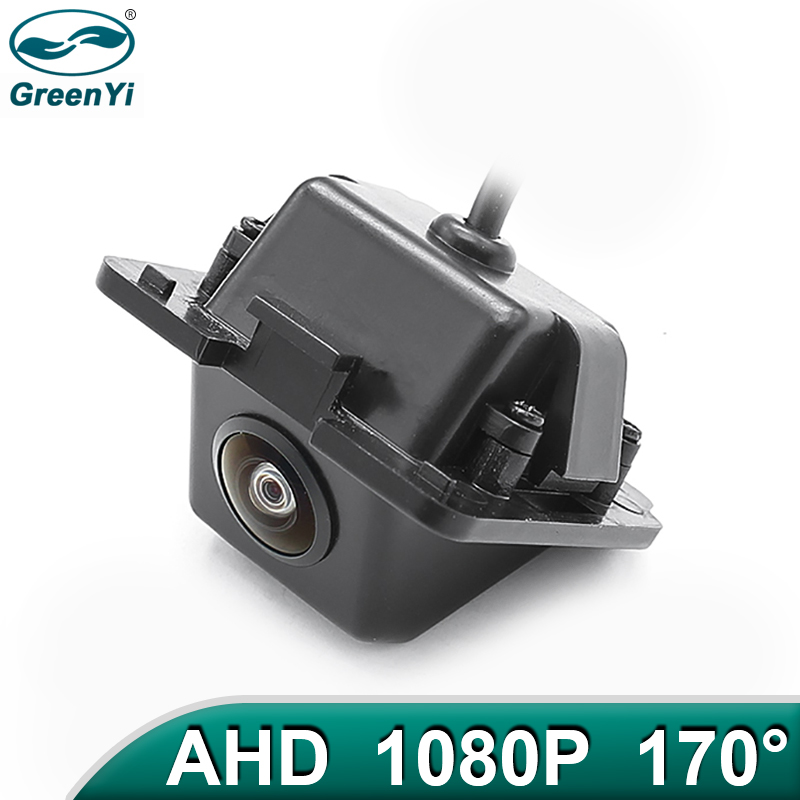 GreenYi 170 ° 1920x1080P HD AHD Автомобильная камера заднего вида для Mitsubishi Outlander XL Outlander Citroen C-Crosser Peugeot 4007 автомобиль